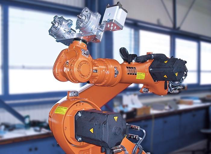 Konstruktion von Robotergreifsystemen