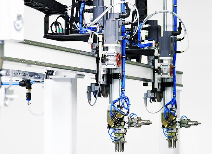 Automatisierung von Werkzeugmaschinen